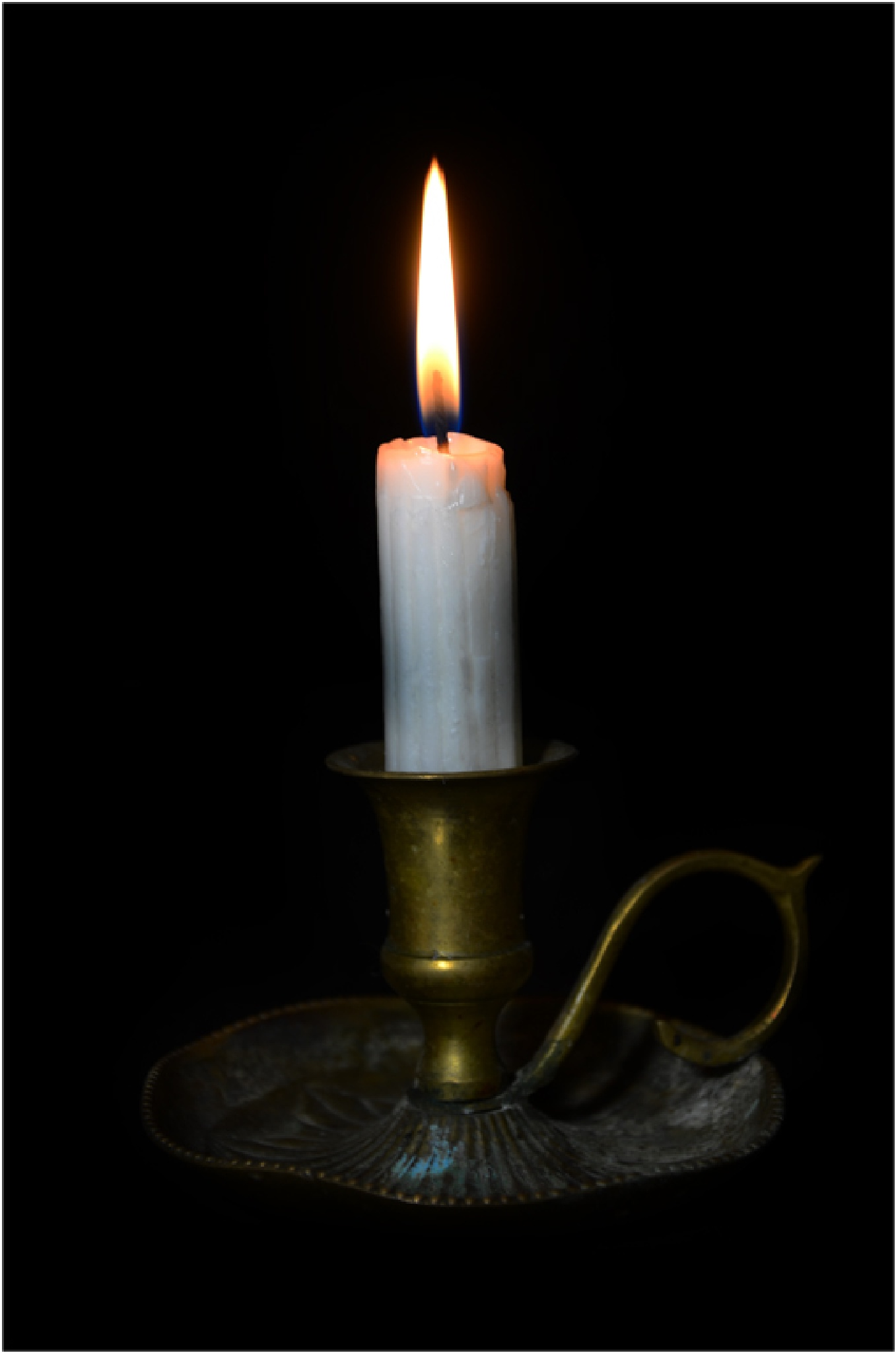 Candle light by Bertie Price
