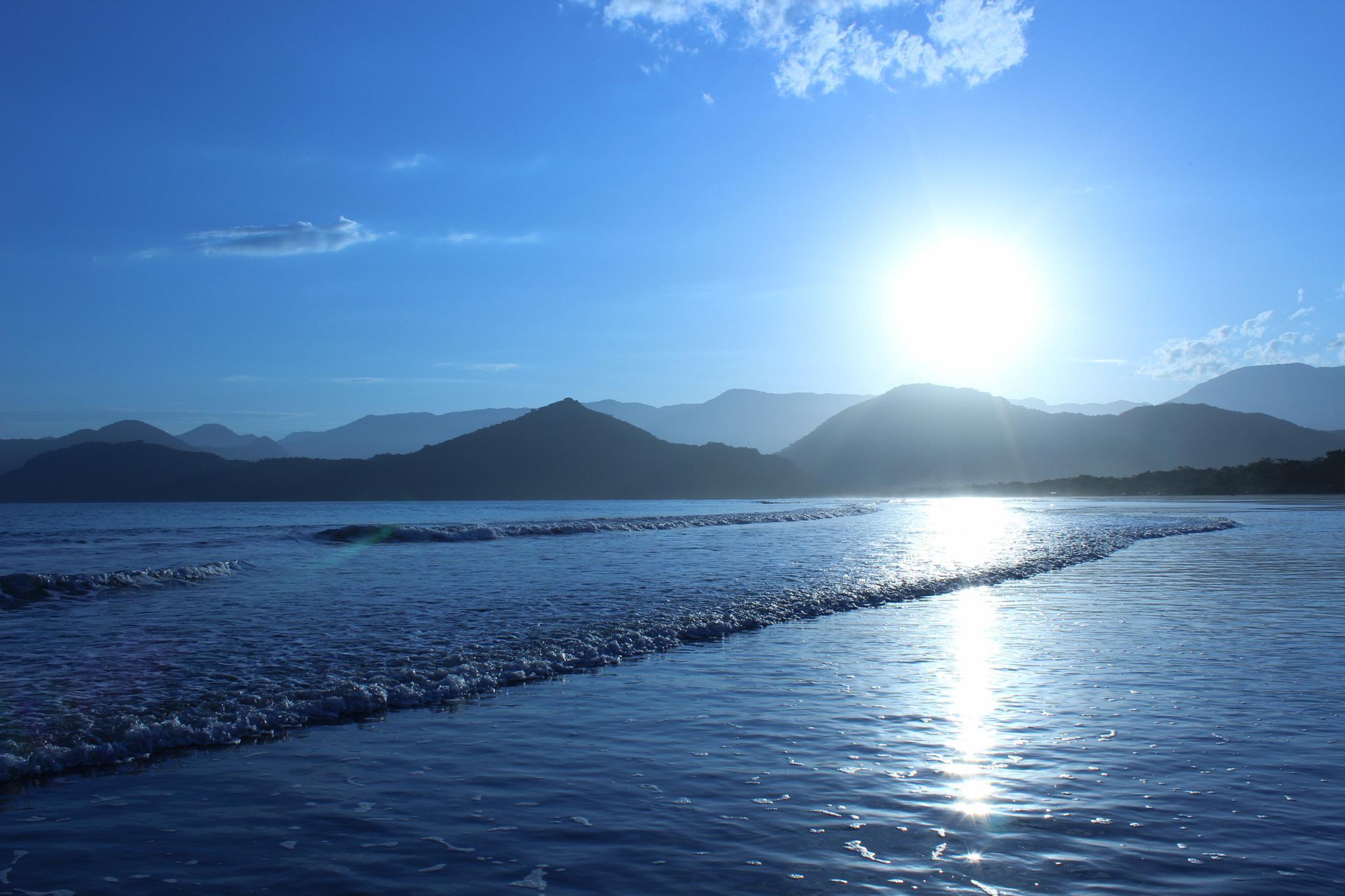 Blue Sunset by Mari Martini