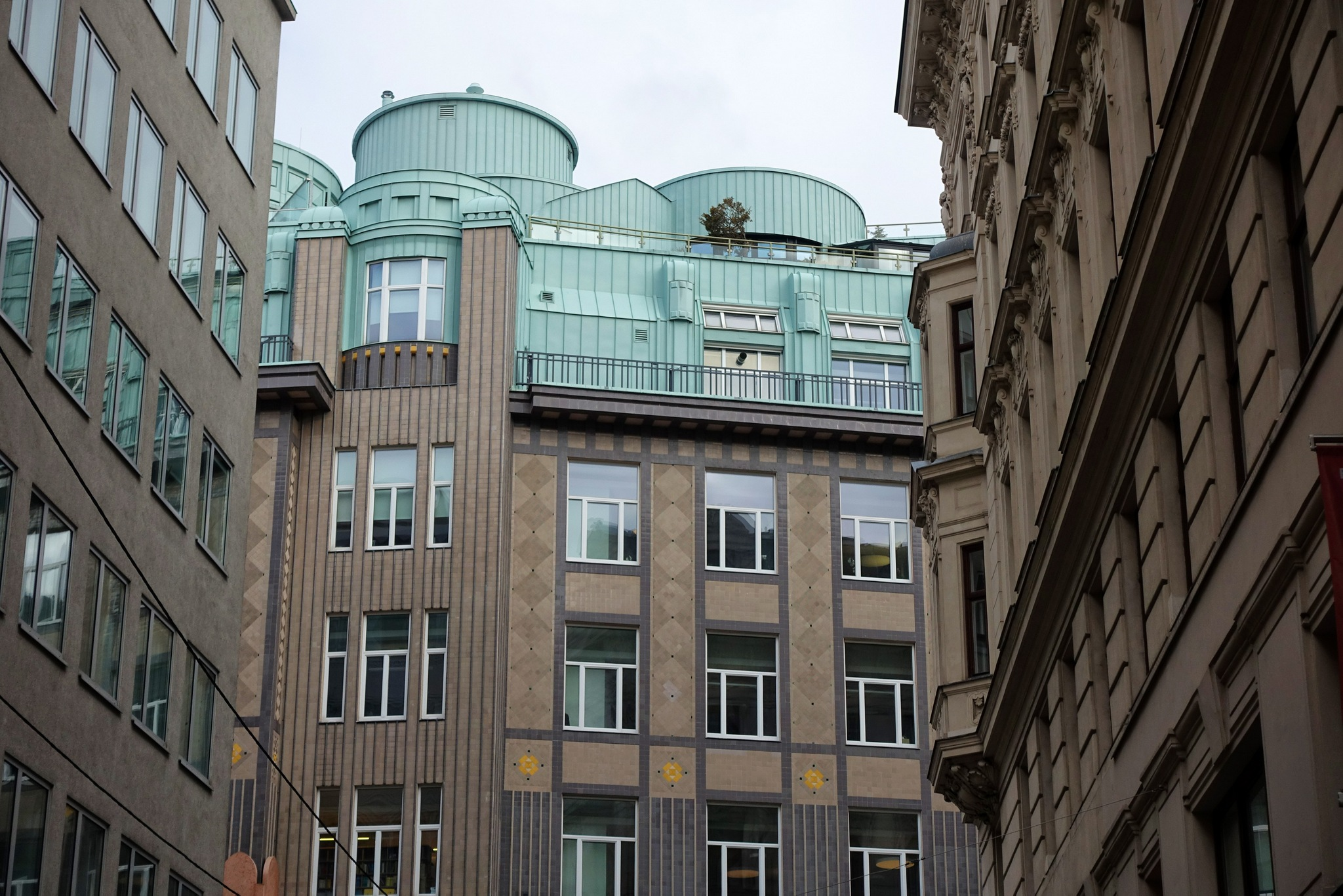 Photo in Architecture #roof #architecture #building #art nouveau #jugendstil #cityscape