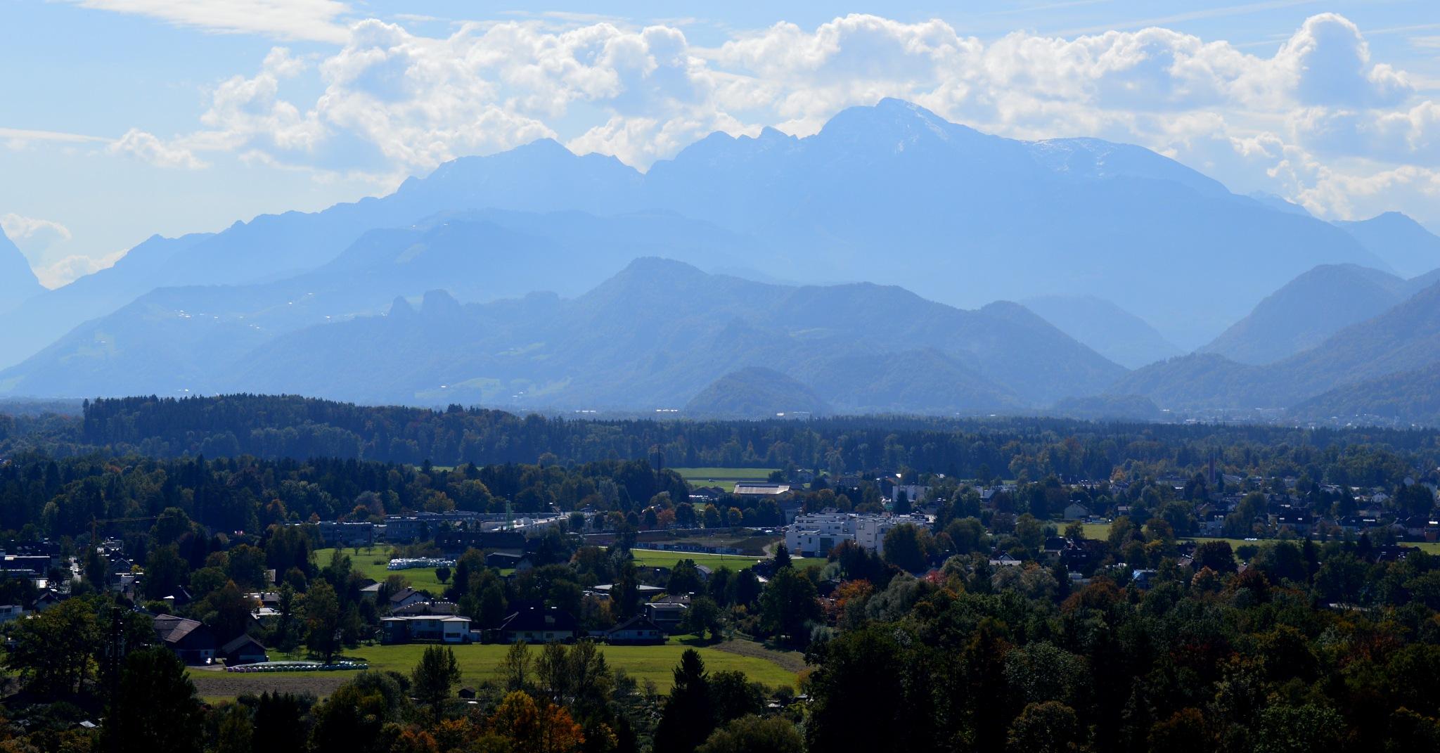 Austrian Alps by Ashkan Baharlooe