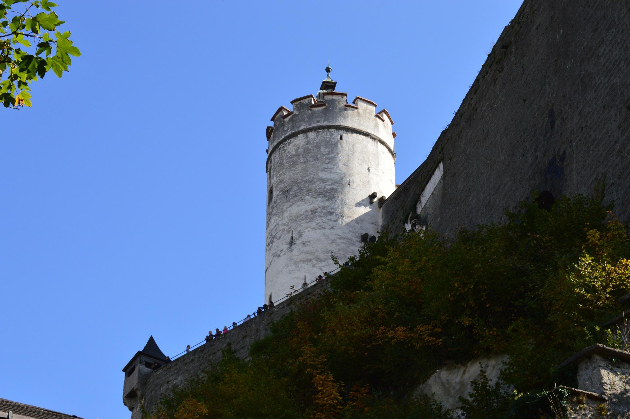 Salzburg castle by Ashkan Baharlooe