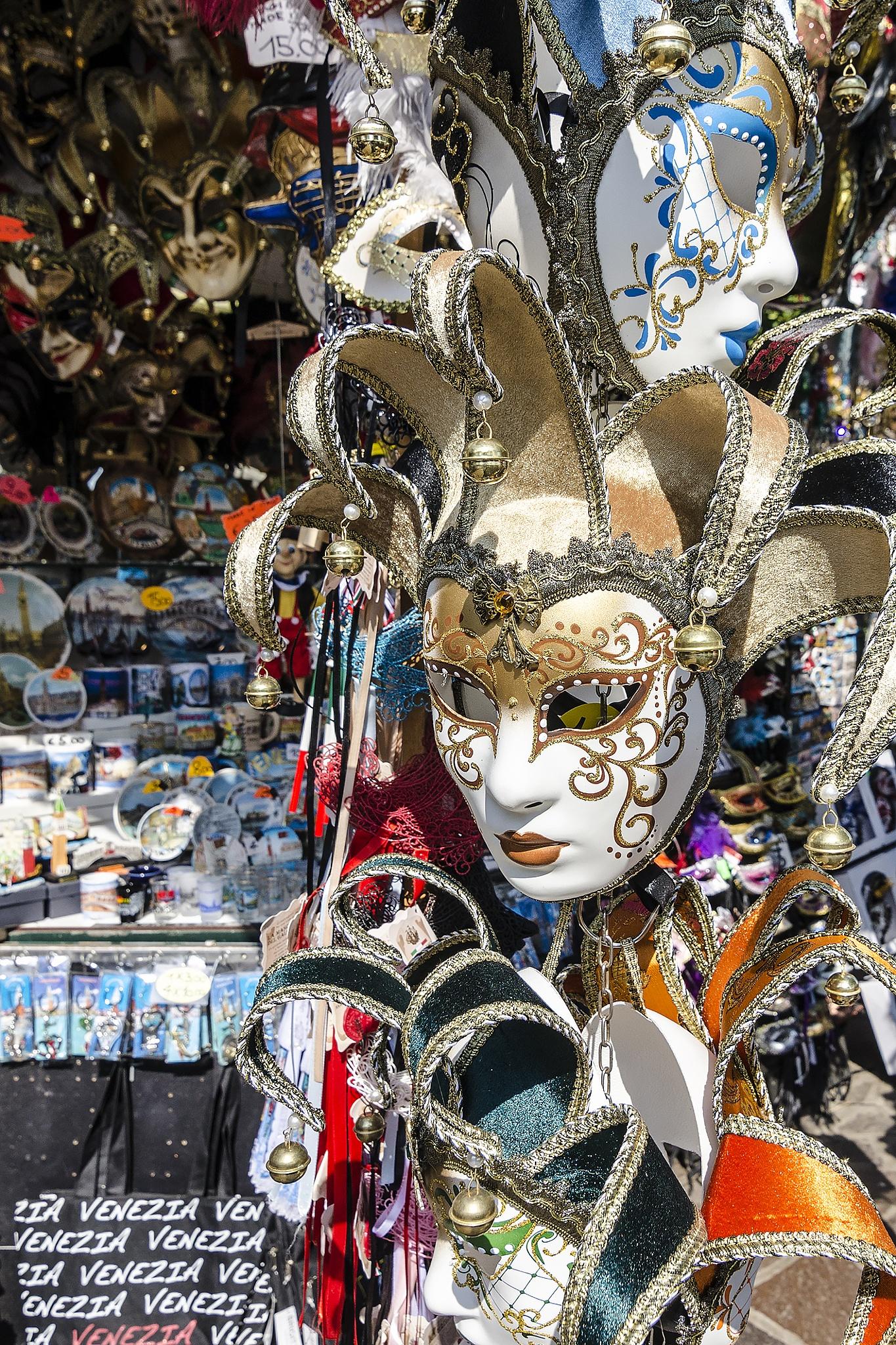Mask in Venice by Ivo Ivanov