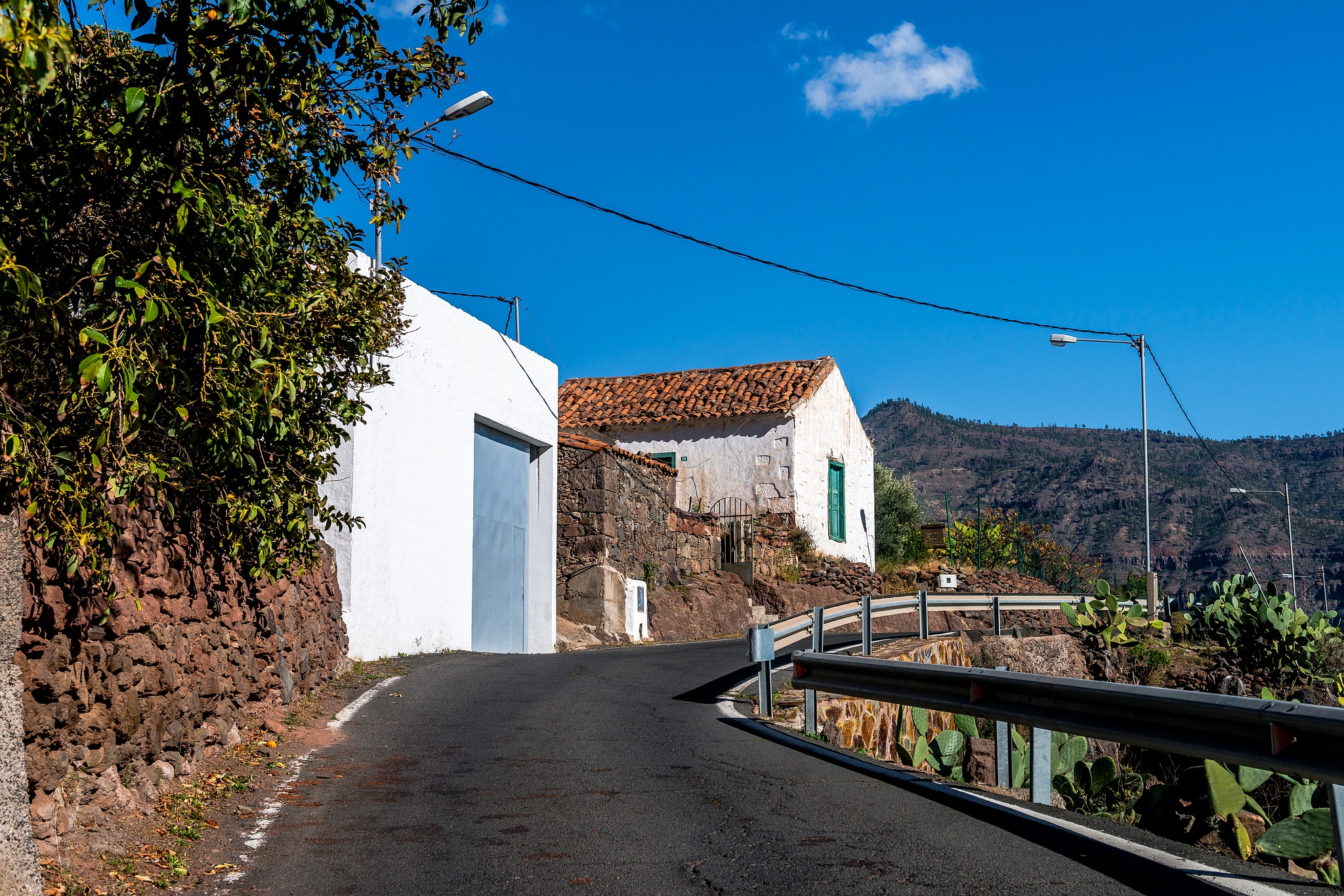 House in a Spanish Village on Gran Canaria by Hyen