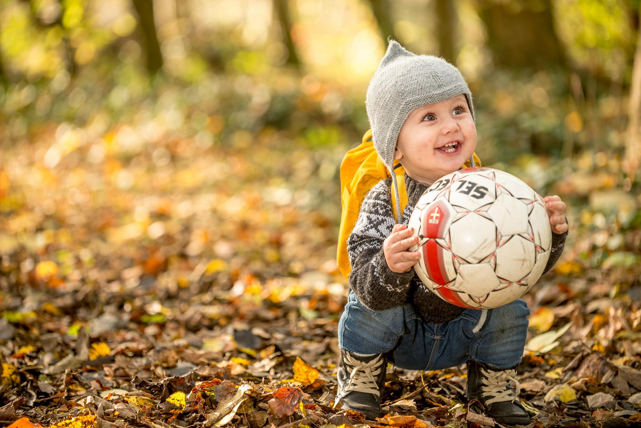 His first football by Hyen