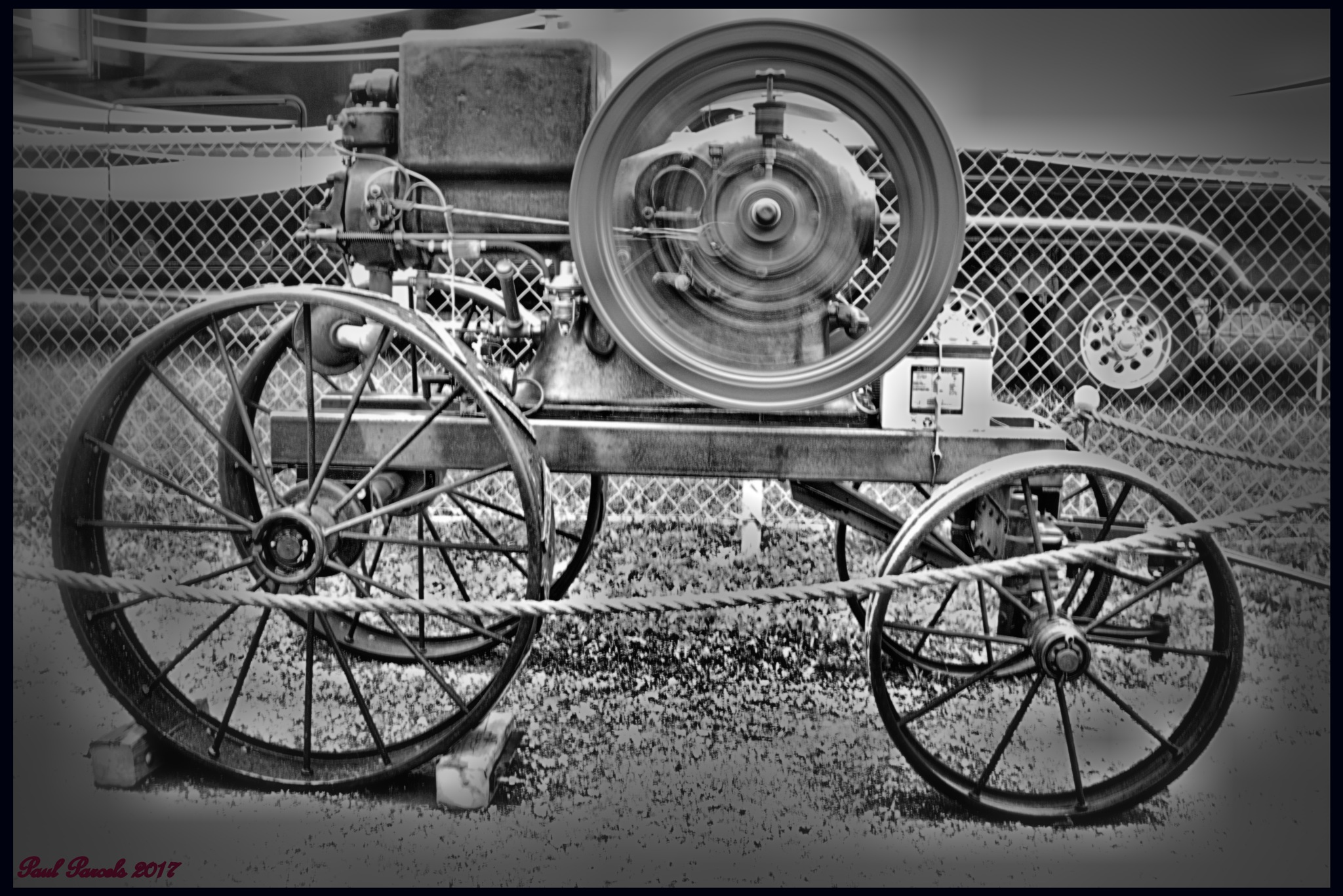Old Engine at the Fair by photomanpaul77