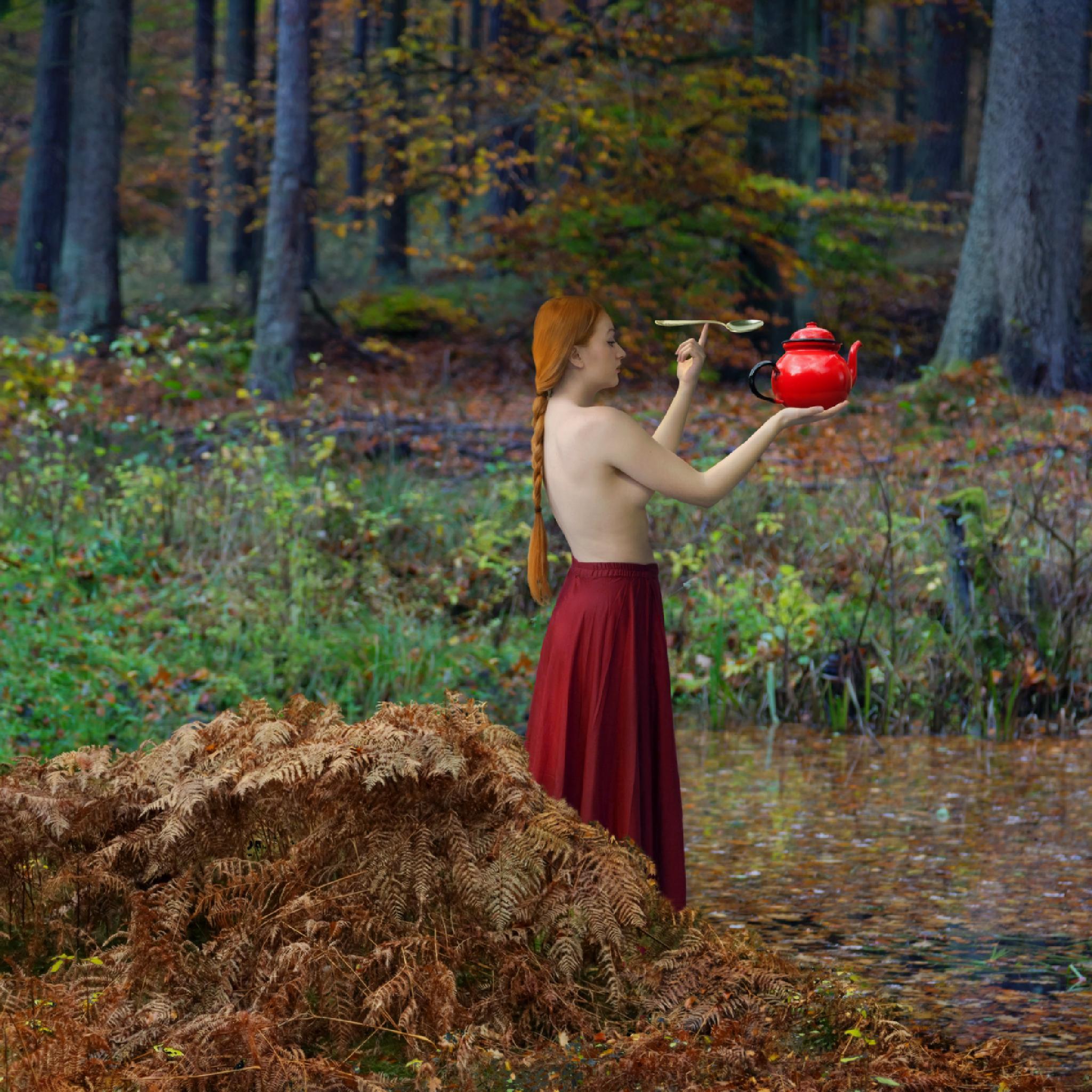 A Witch by Dariusz Klimczak