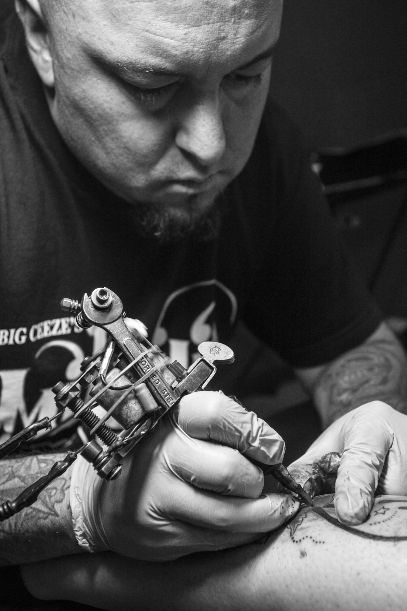 The Artist at Work by Matthew David Kuiper