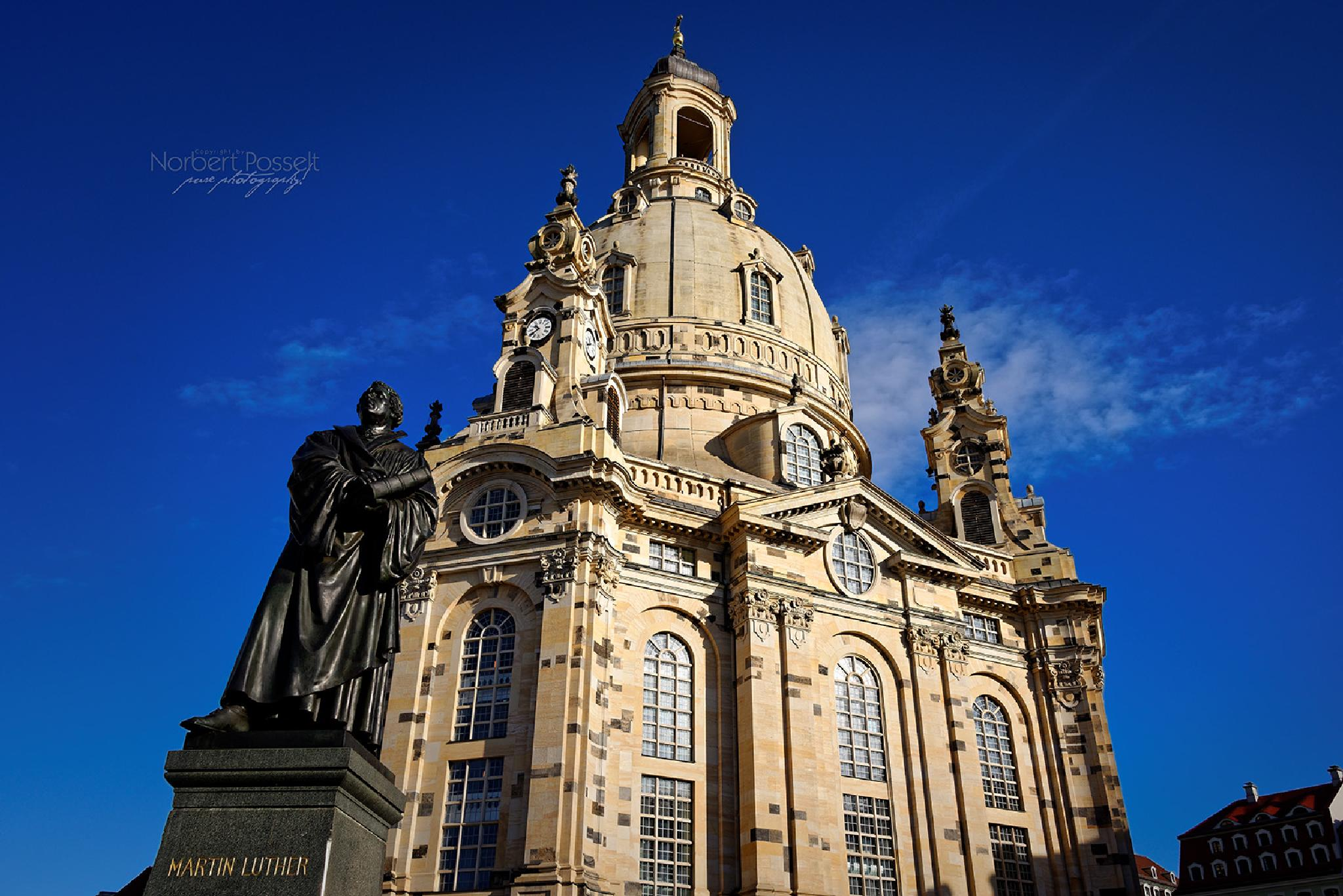 Church of Our Lady Dresden by Norbert Posselt