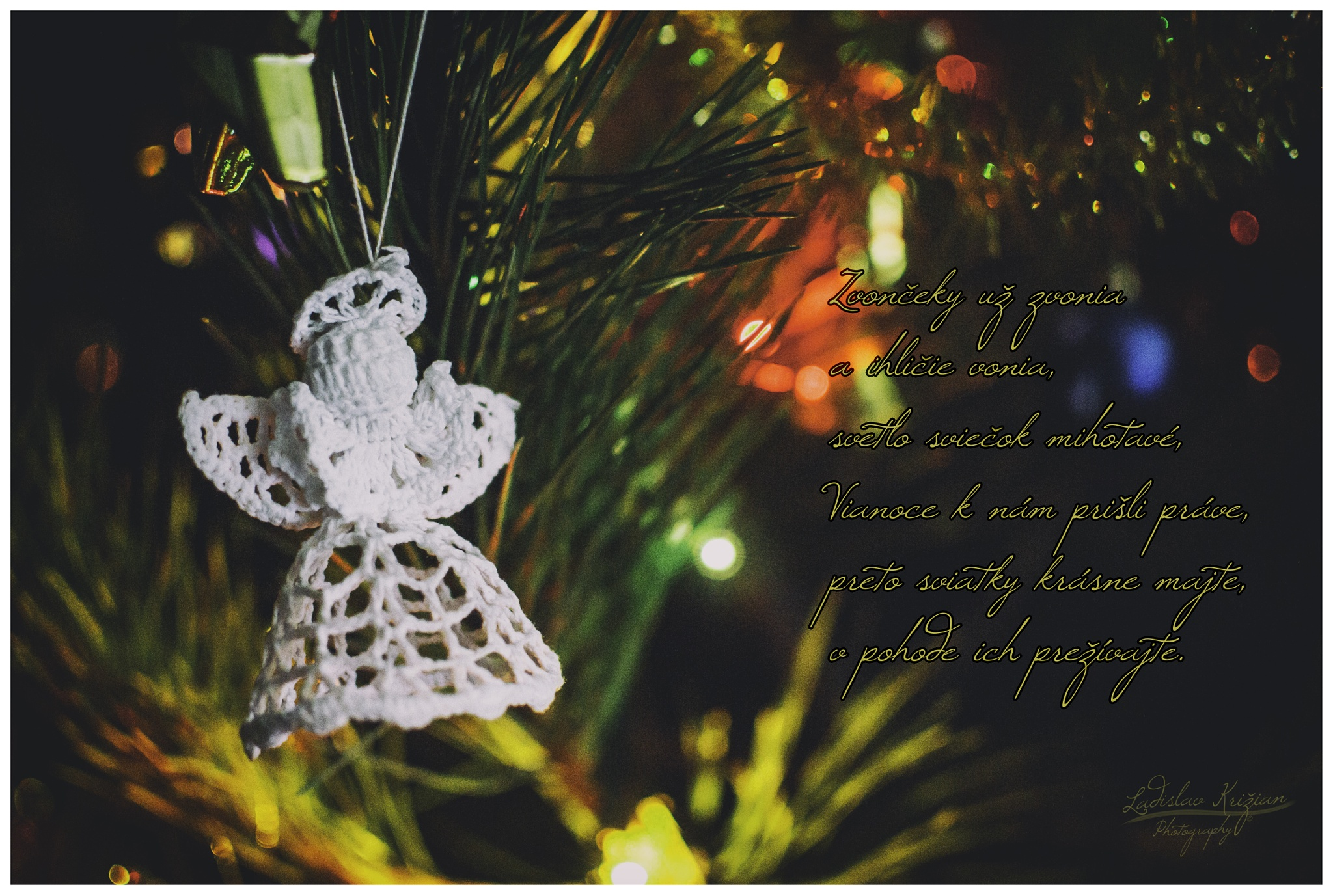 Merry Christmas by Ladislav Križian
