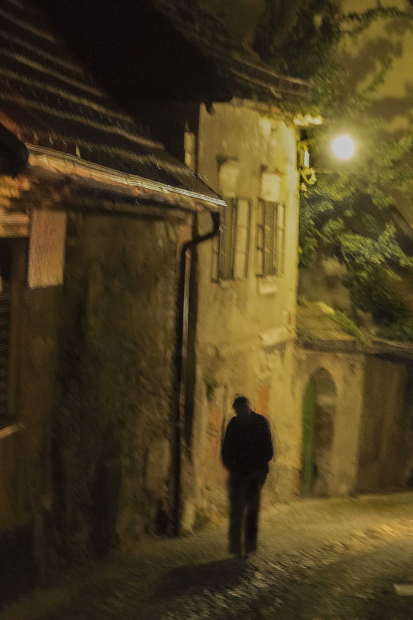 Photo in Random #man #alley #night