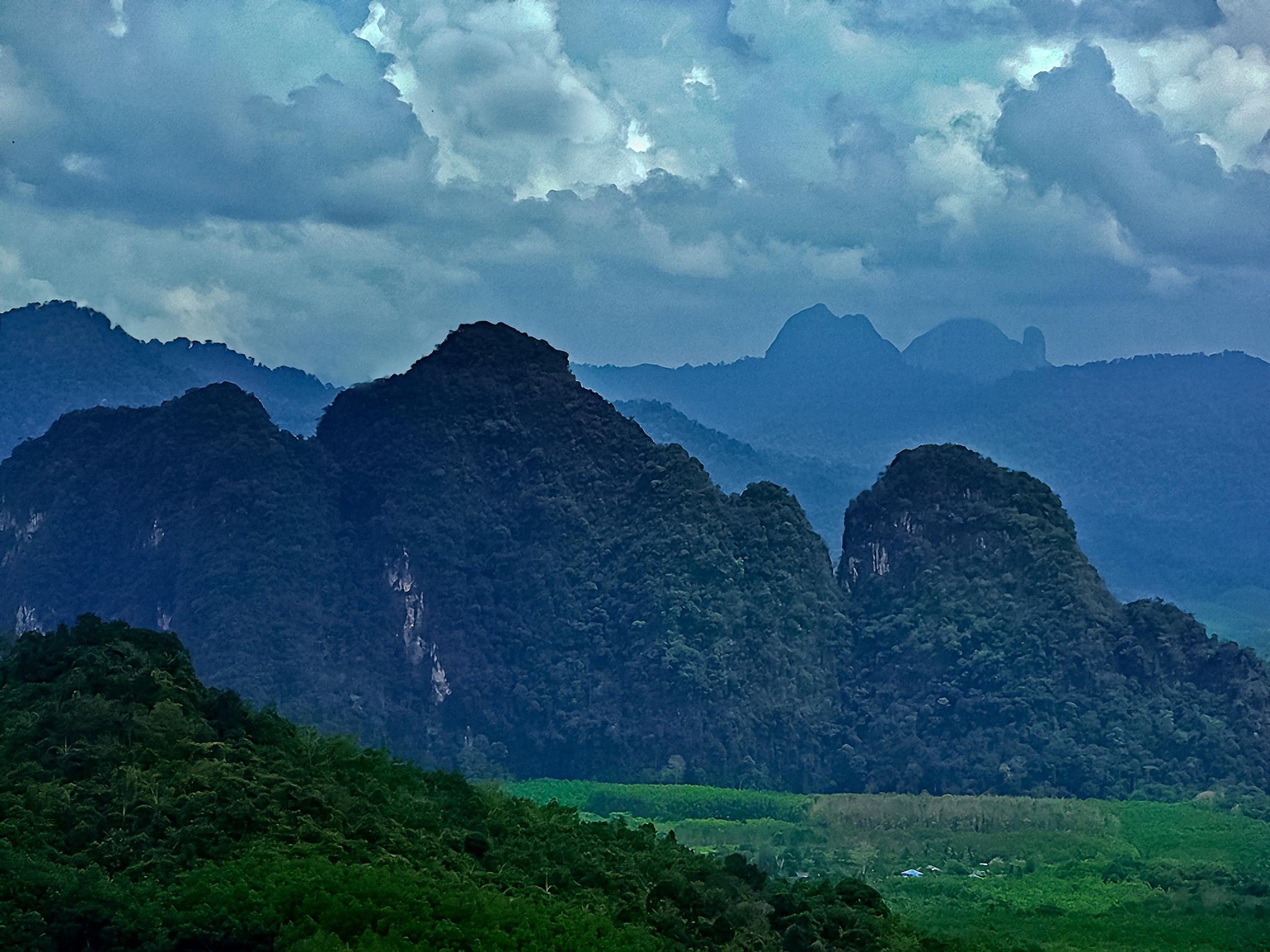 THAILAND  MOUNTAINS  by EVA