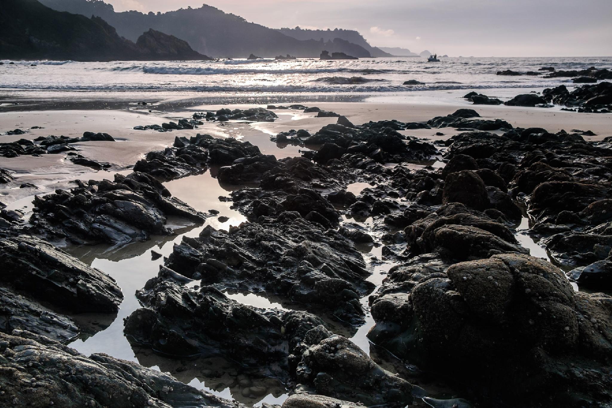 Mar y rocas by Mahandeep Singh