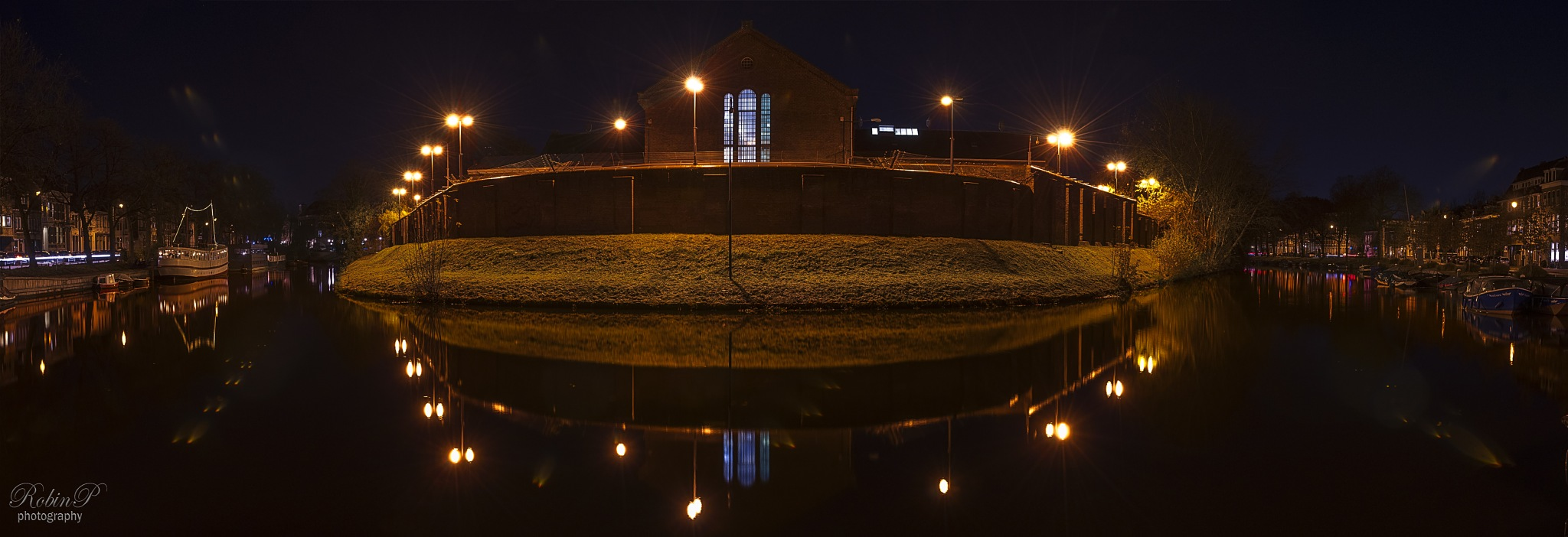 an old Dutch prison at the famous canals. by Robin Pulles