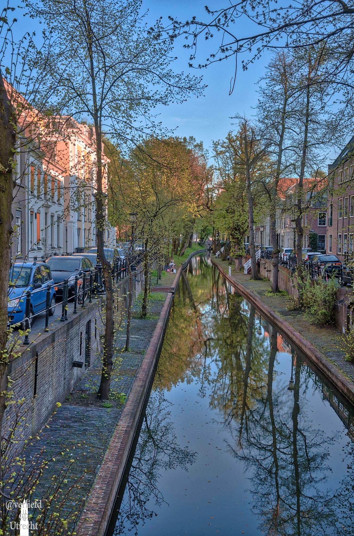 Dutch canals in spring by Robin Pulles