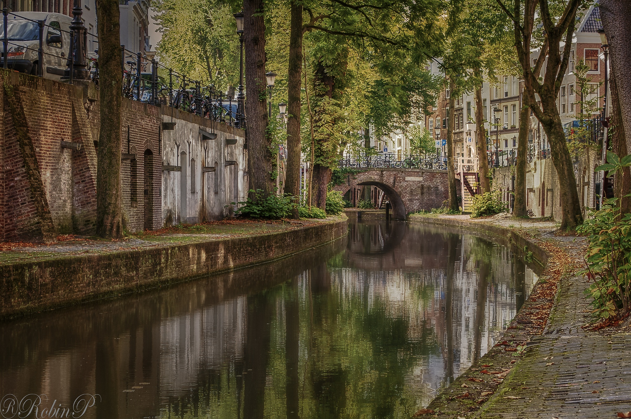 End of summer in Utrecht, Holland by Robin Pulles