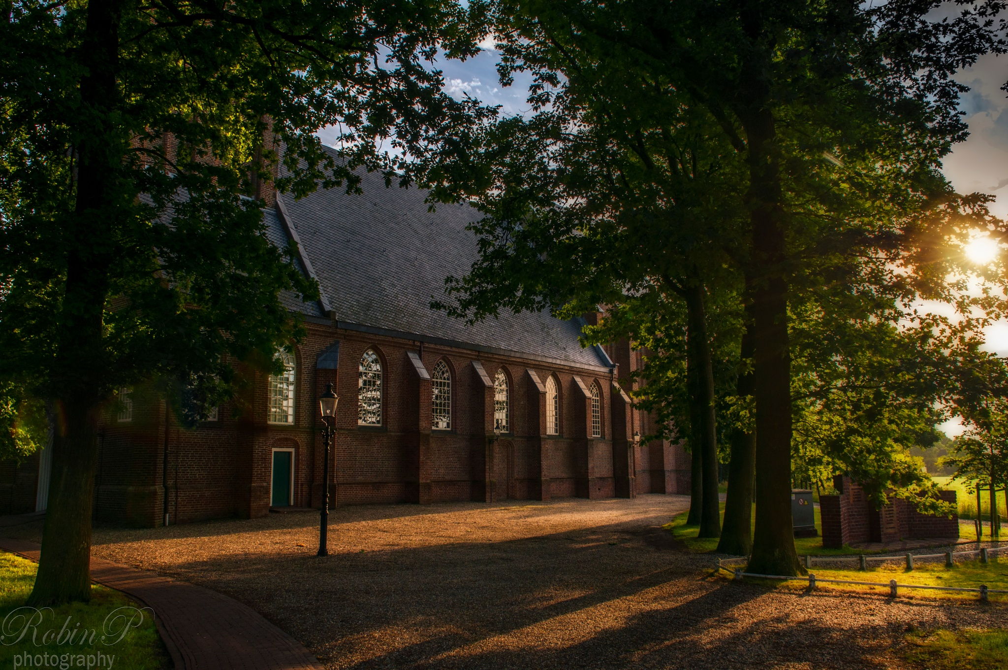 church square in the morning by Robin Pulles