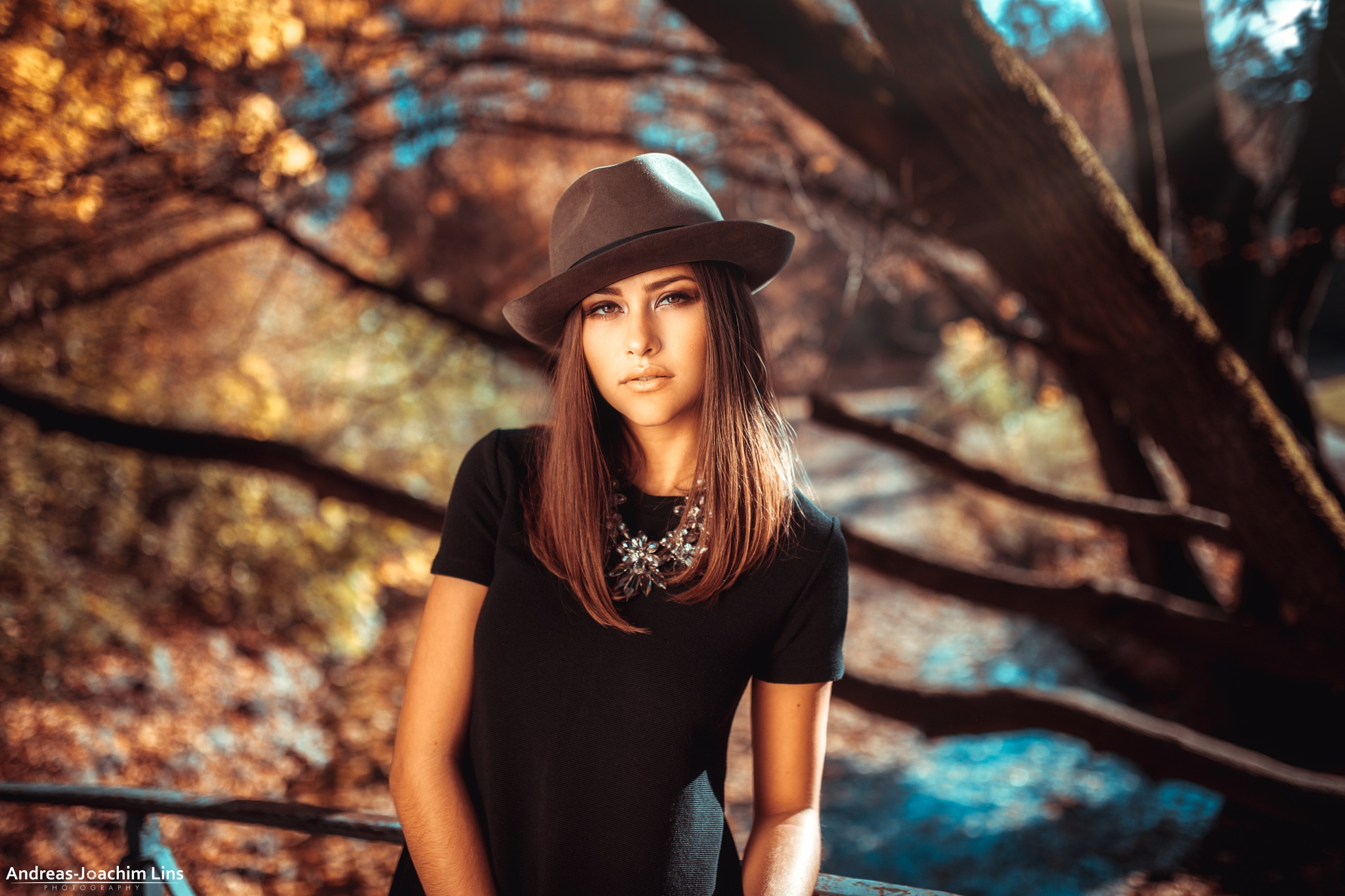 Young Girl - Old Hat by Andreas-Joachim Lins