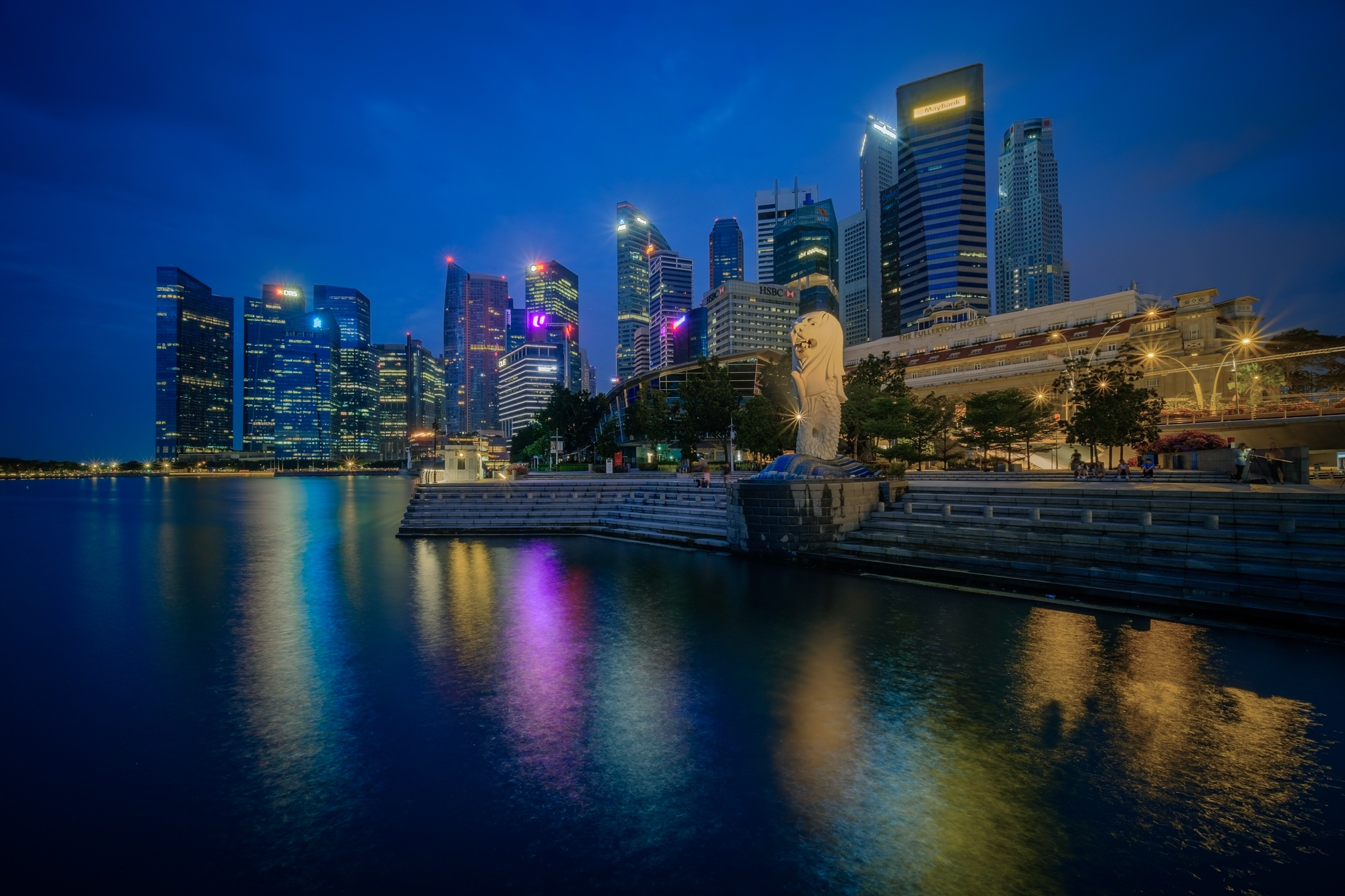 Majestic Merlion by chyeguantan