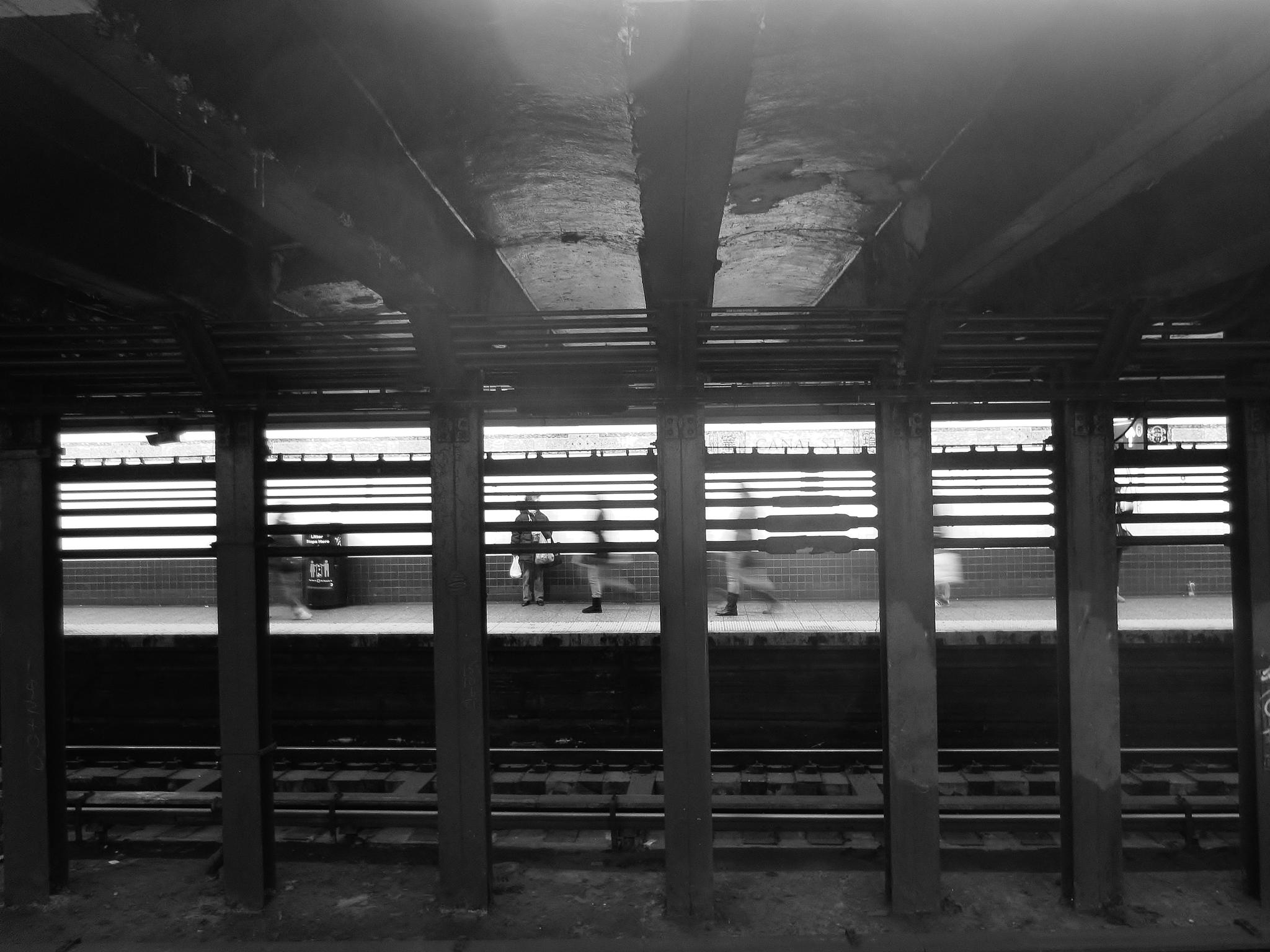 Canal Street Station, Manhattan, NYC by cgsahar