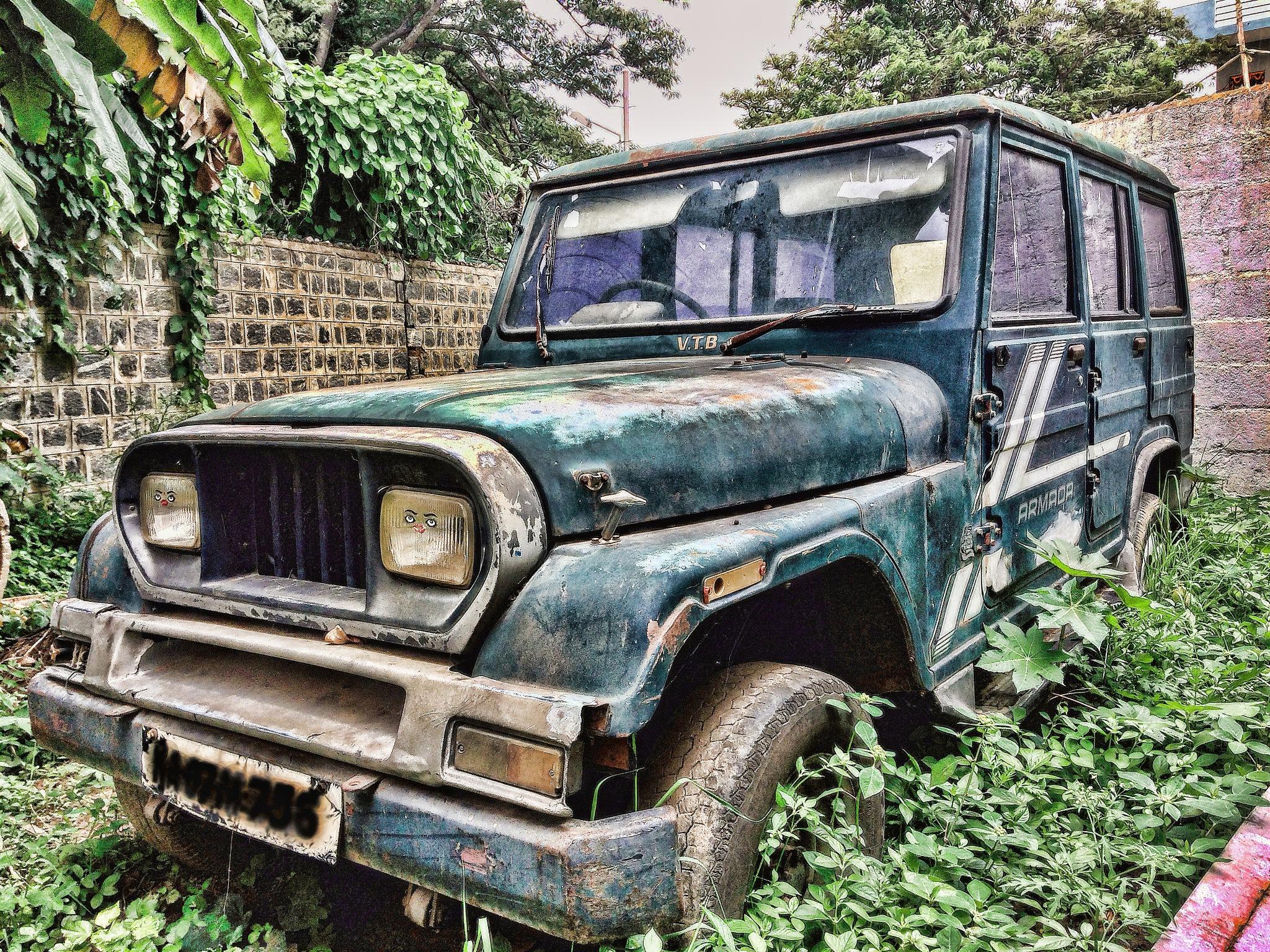 Classic car by Rohith Raj