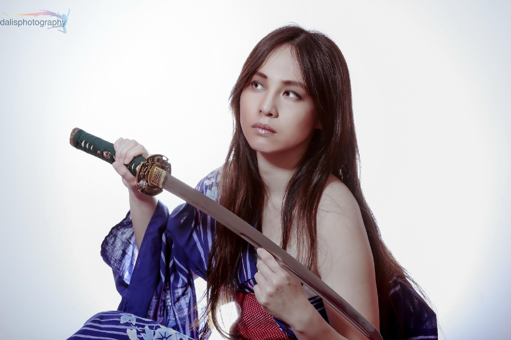 Samurai Girl by Eric Foto