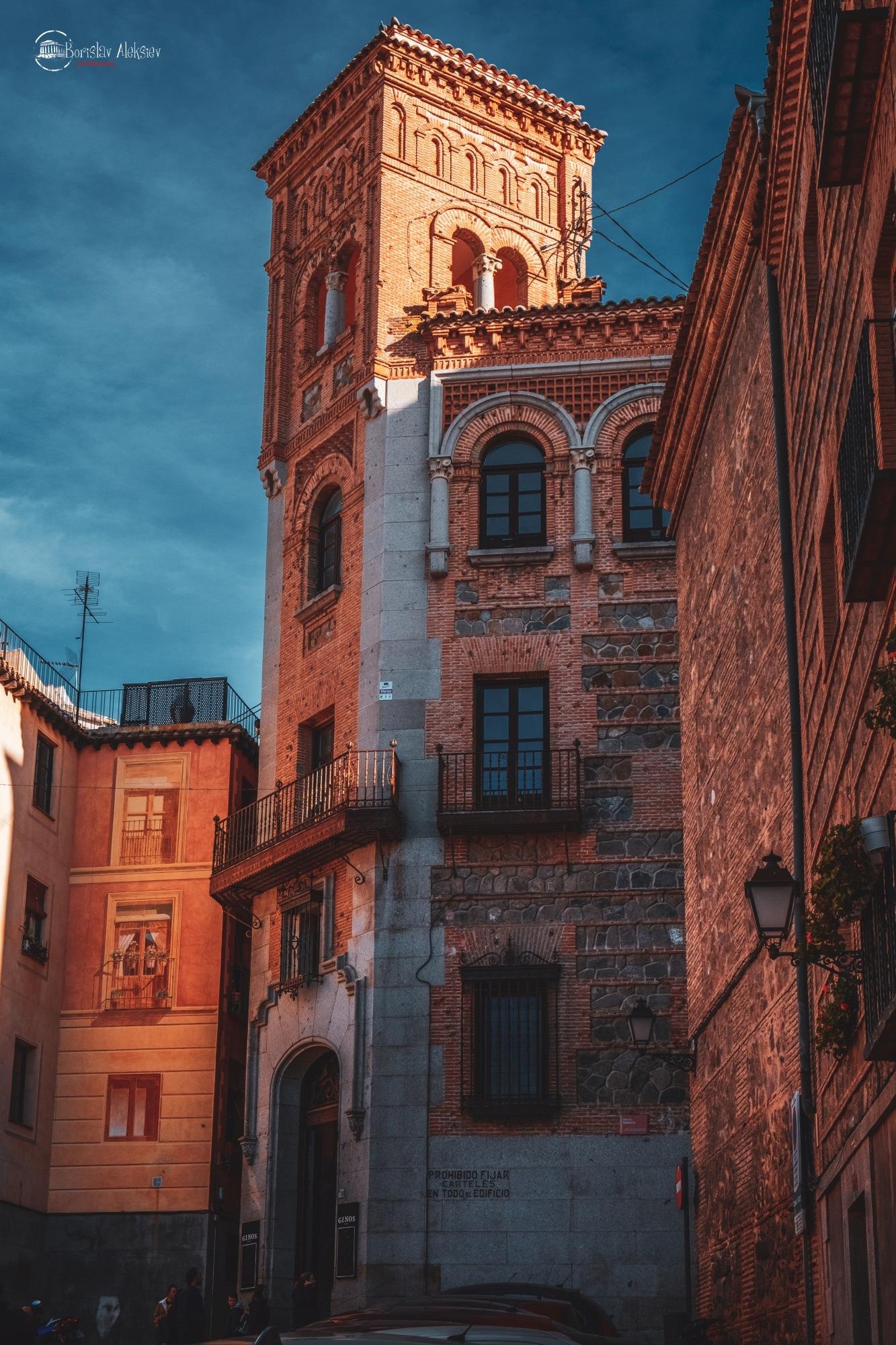 Photo in Architecture #fujifilm #xt3 #spain #toledo #orange #blue #sky #travel #light #sunlight #old #stone #street