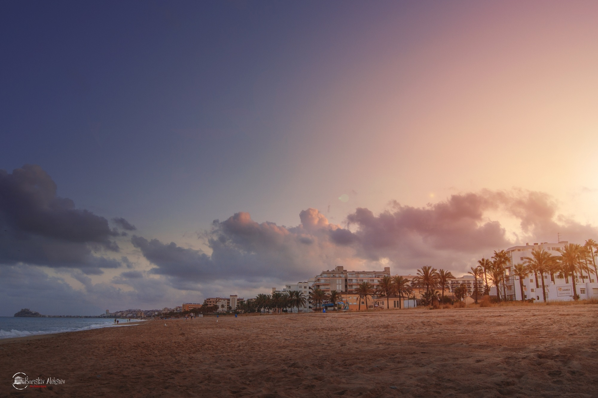 Sunset by Borislav Aleksiev