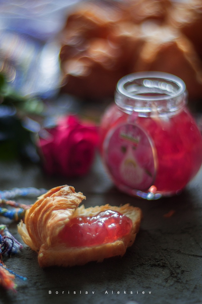 Rose petal Jam by Borislav Aleksiev