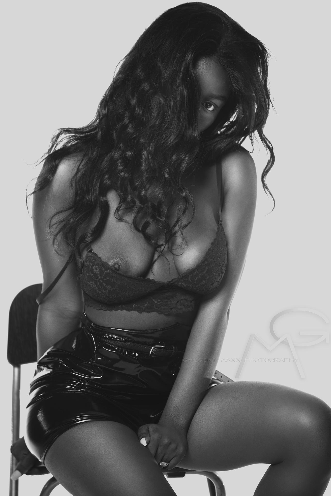 Photo in Fine Art #sexy #b&w #hotone #model