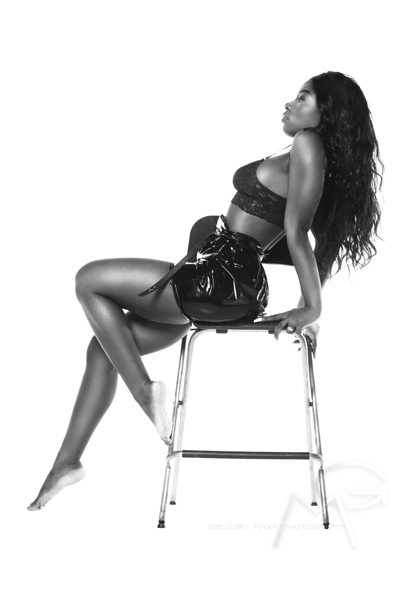 Photo in Fashion #model #hotone #b&w #sexy