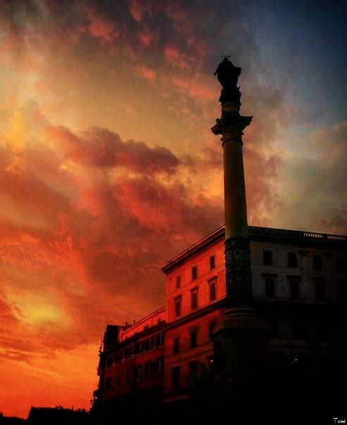 ATARDECER EN ROMA by Toni S.