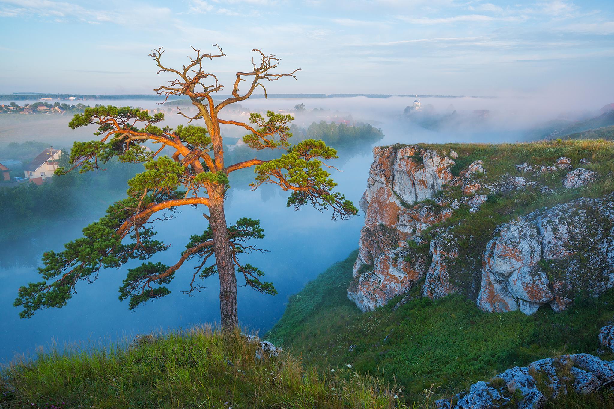 Chusovaya river by Vadim Balakin