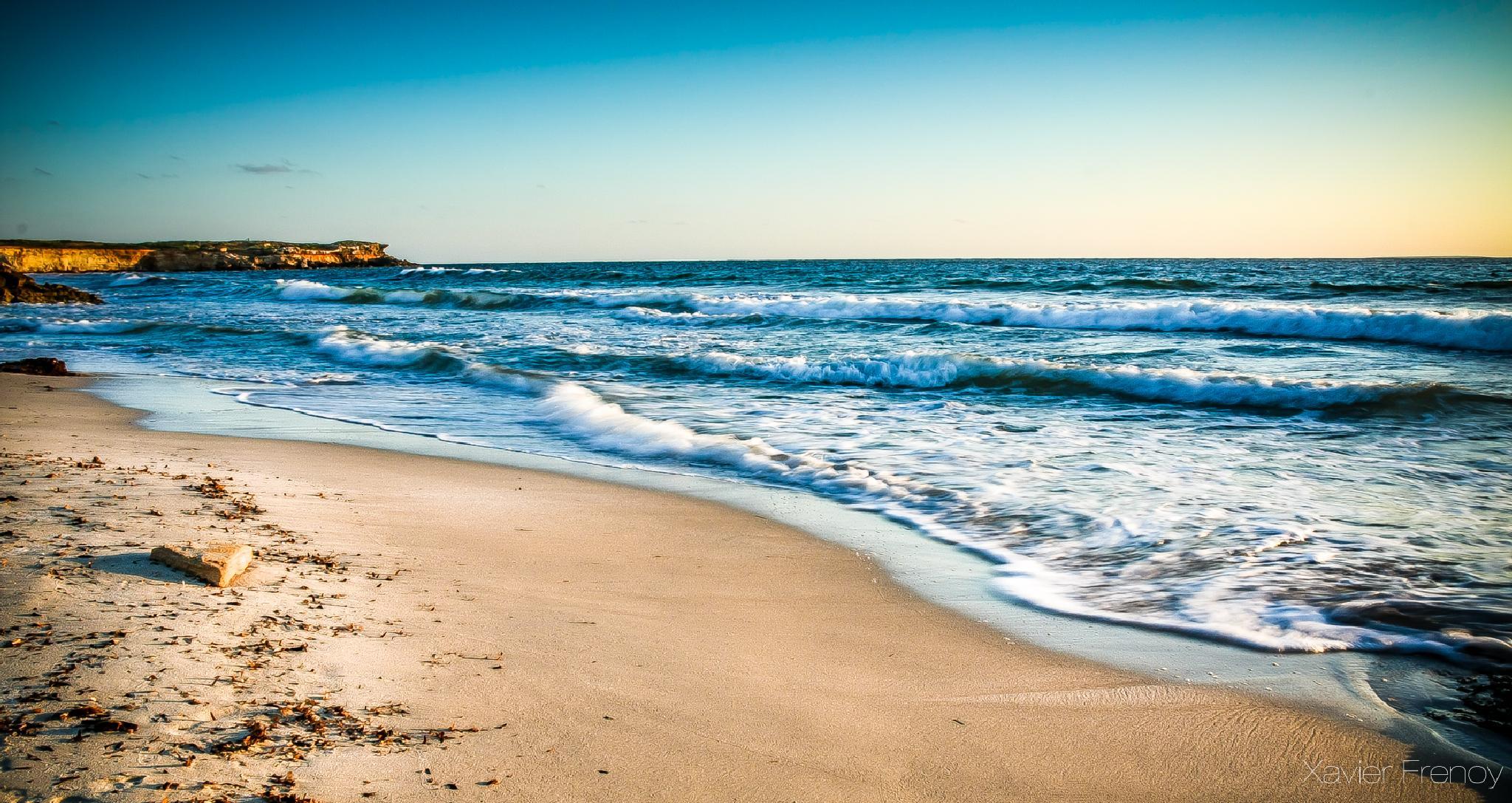 Empty beach by Xavier Frenoy Photography