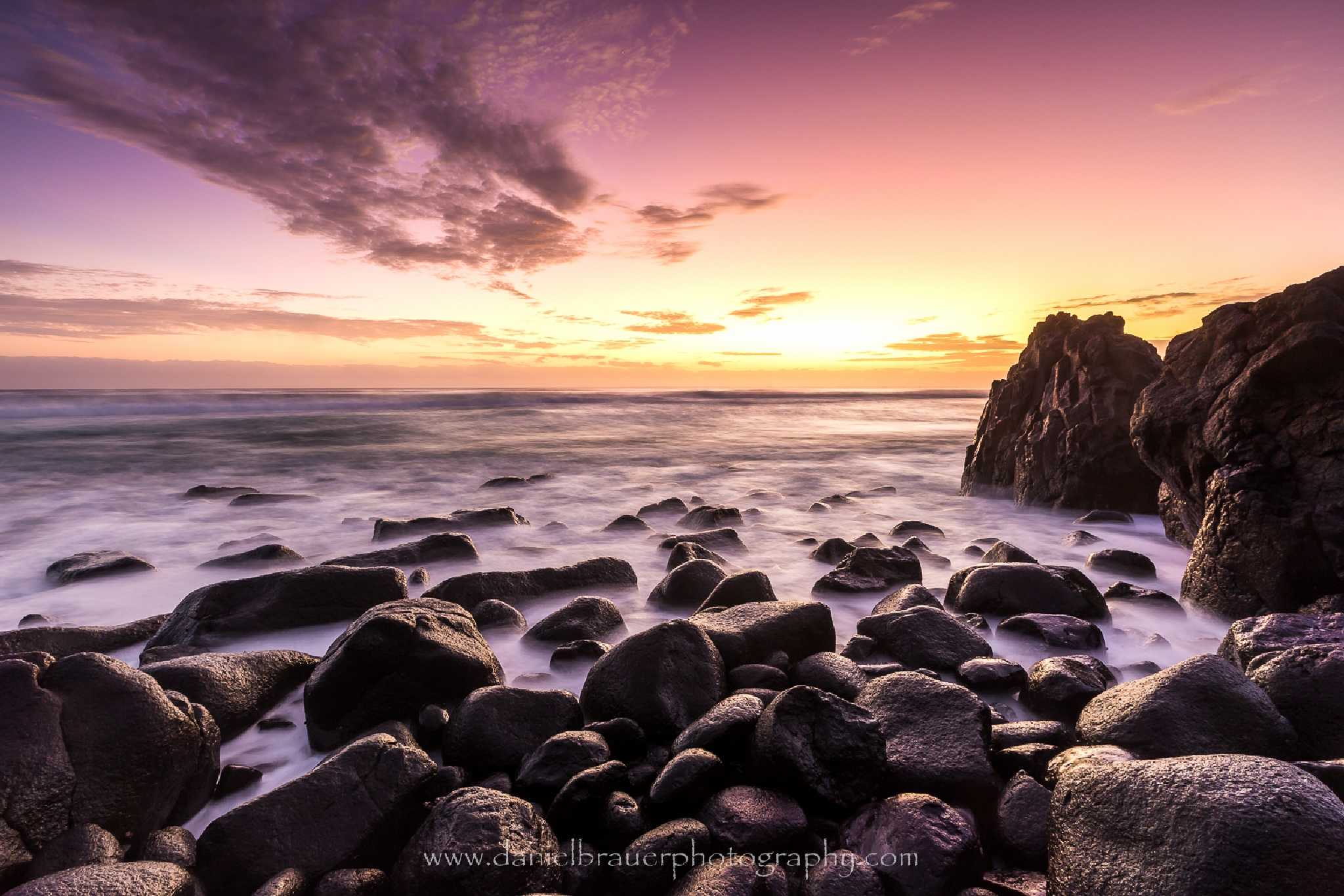 Burleigh Morning Glow by Daniel Brauer