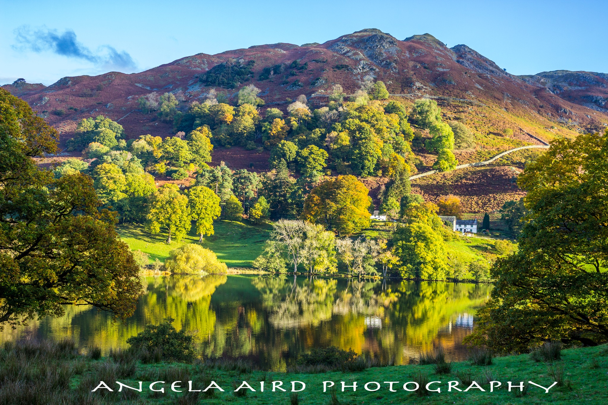 Loughrigg Tarn. by Angie Aird