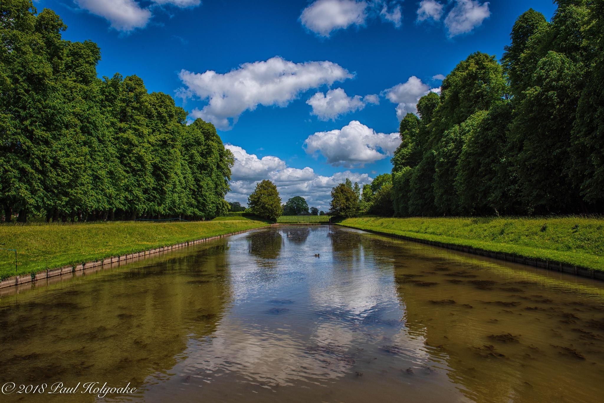Ornamental Pond by Photon