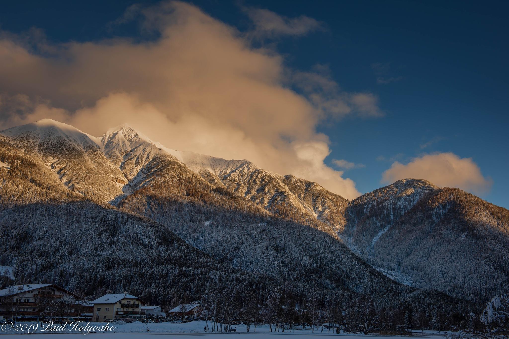 Sunlit Summit by Photon