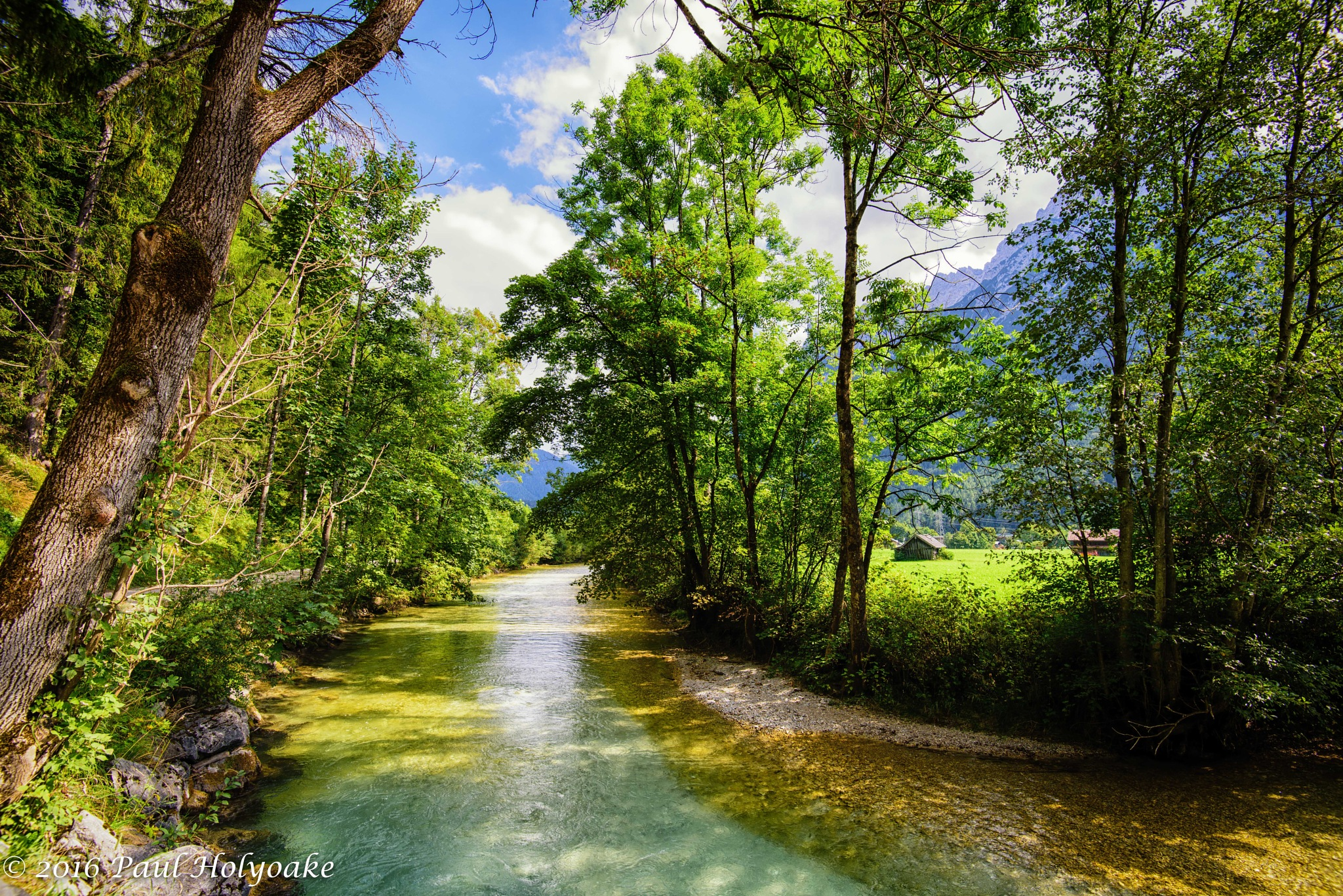 River Isar by Photon