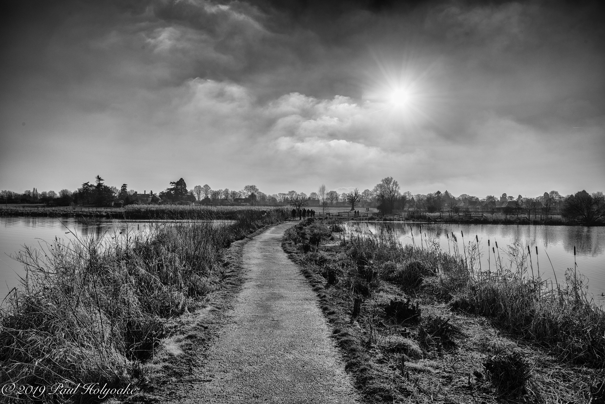 Between the Lakes by Photon