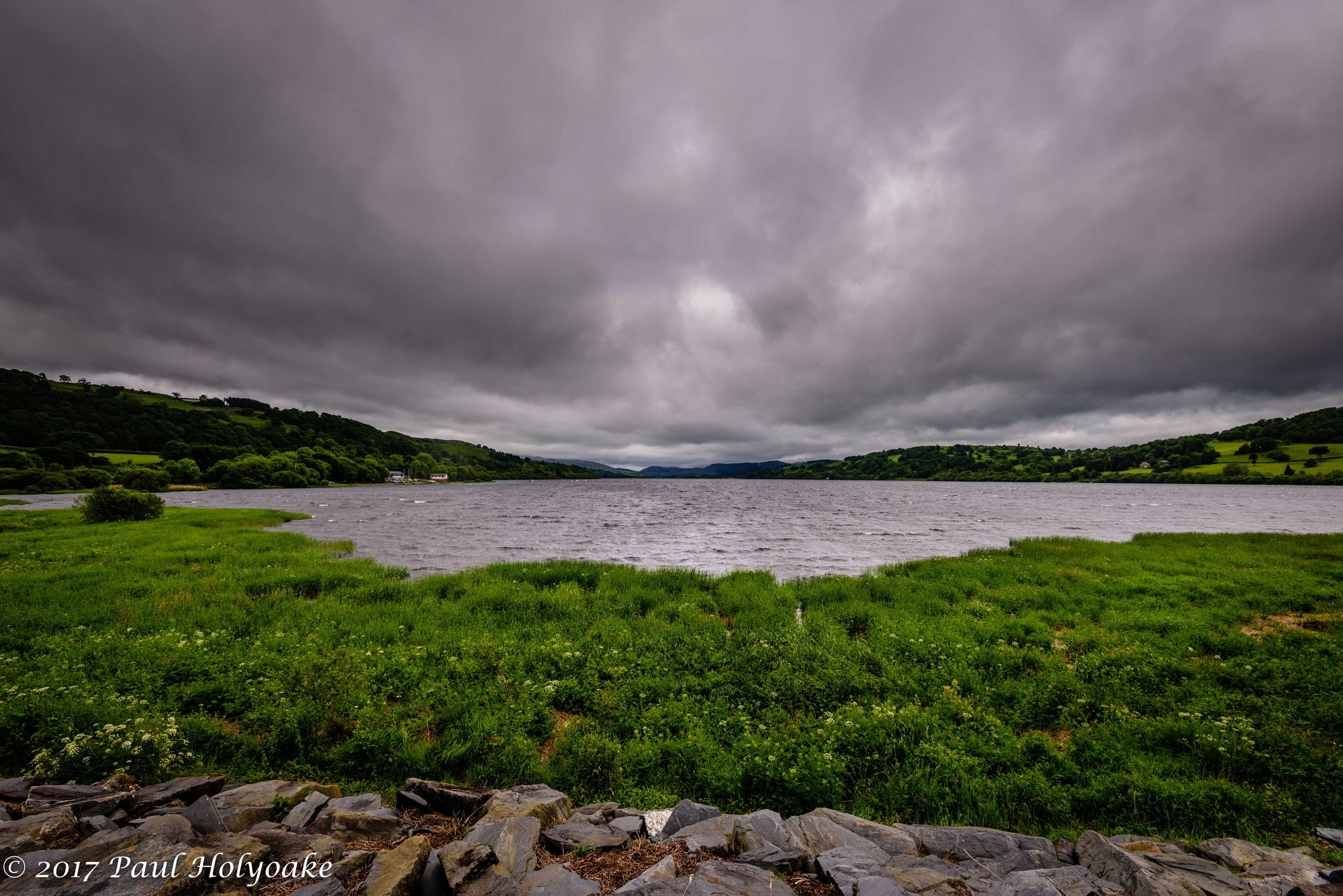 Wind Blown Lake by Photon