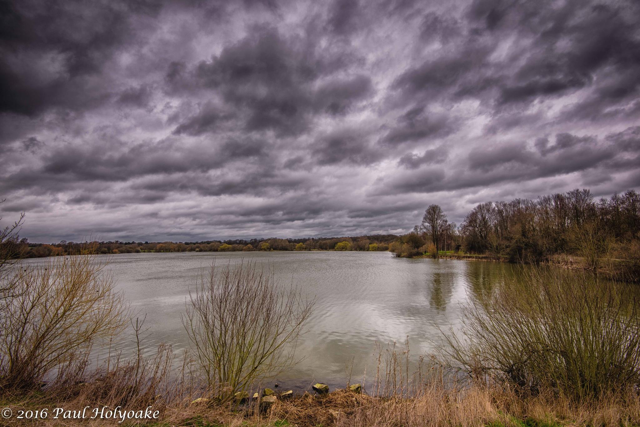 Rain Clouds by Photon