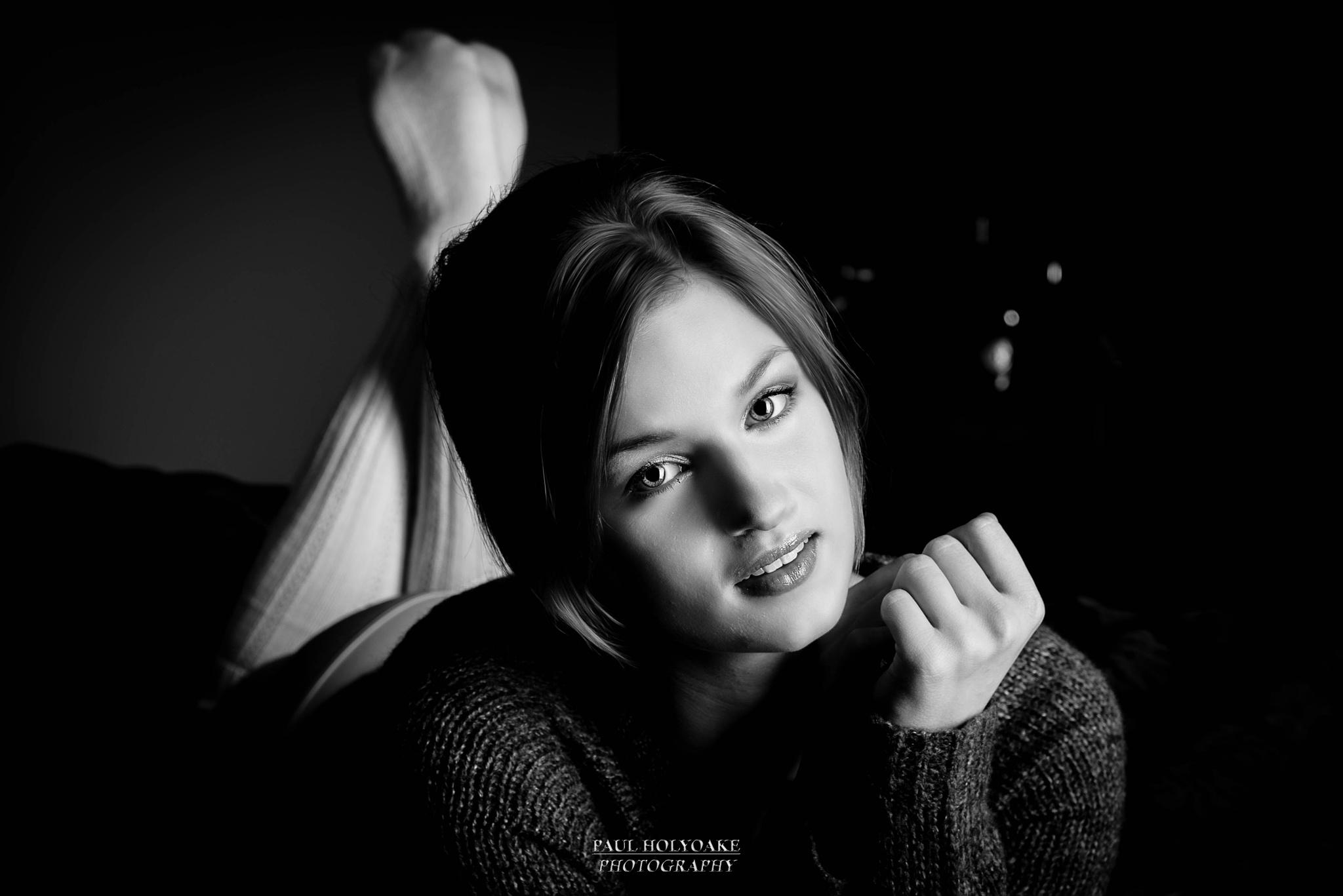 Charli M B&W by Photon