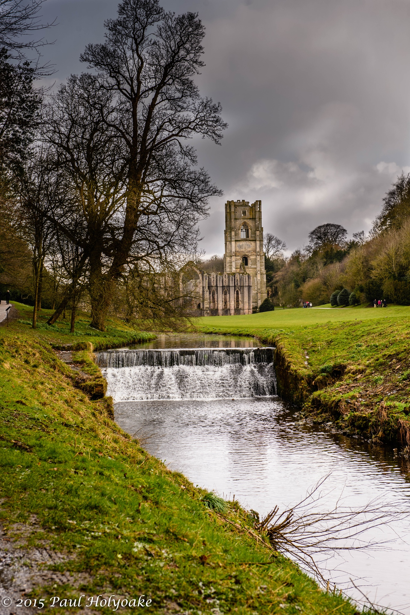 Storm over the abbey by Photon
