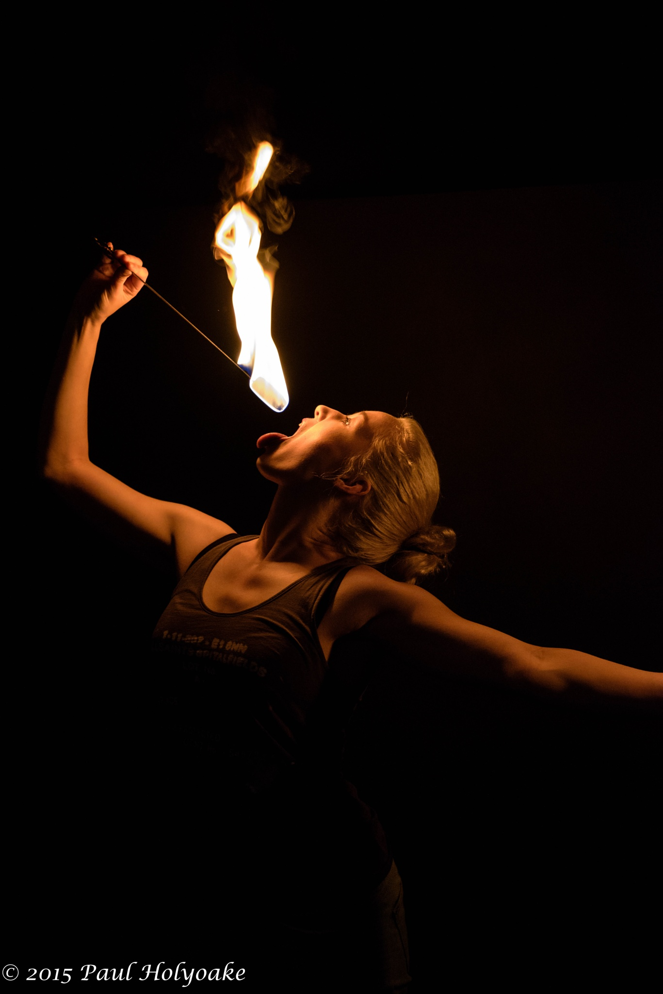 Fire Eating by Photon