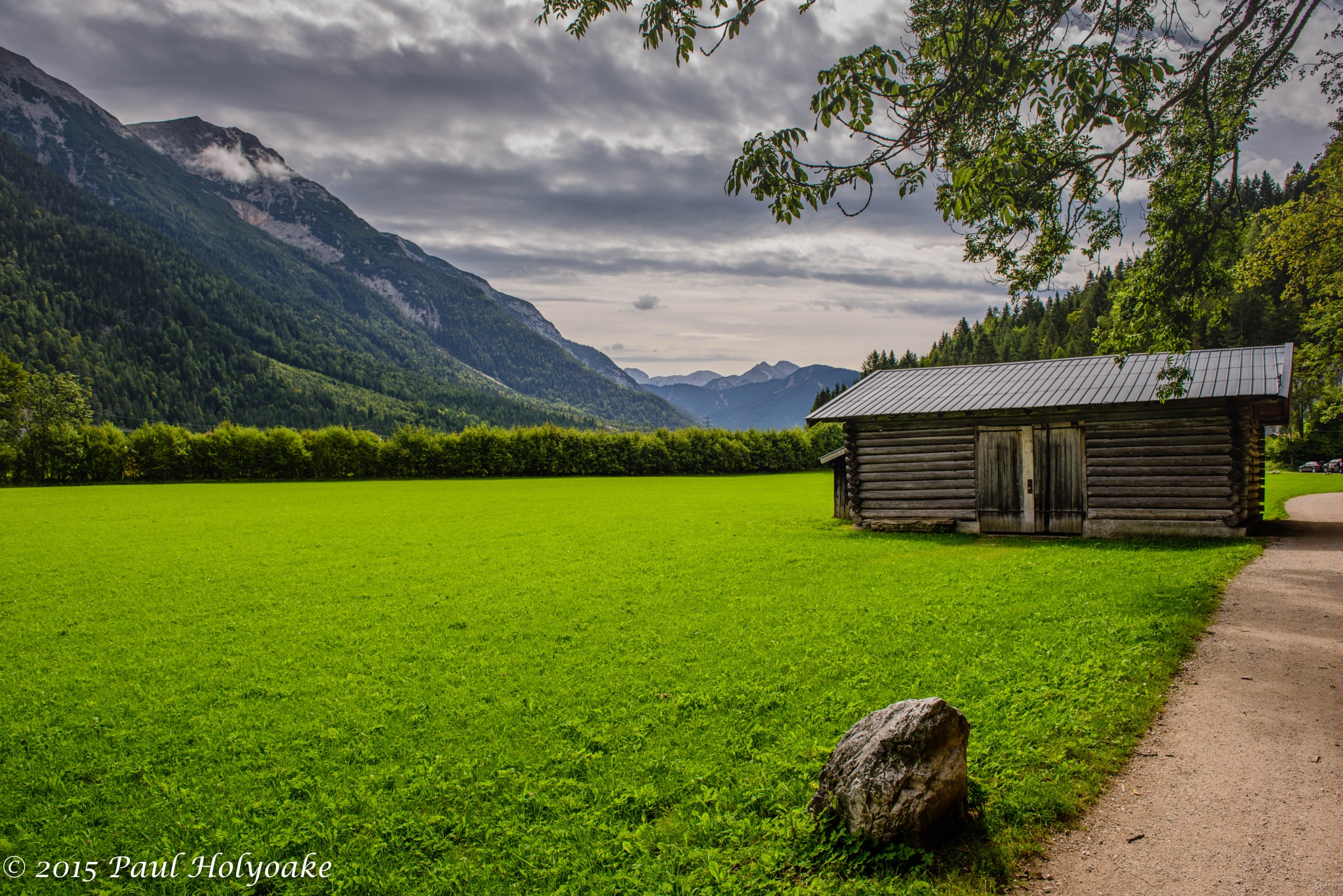 Lone Barn II by Photon