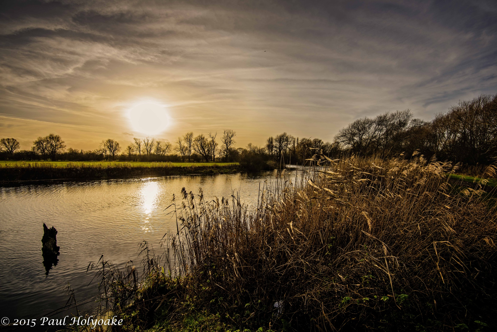Sundown on the Great Ouse II by Photon