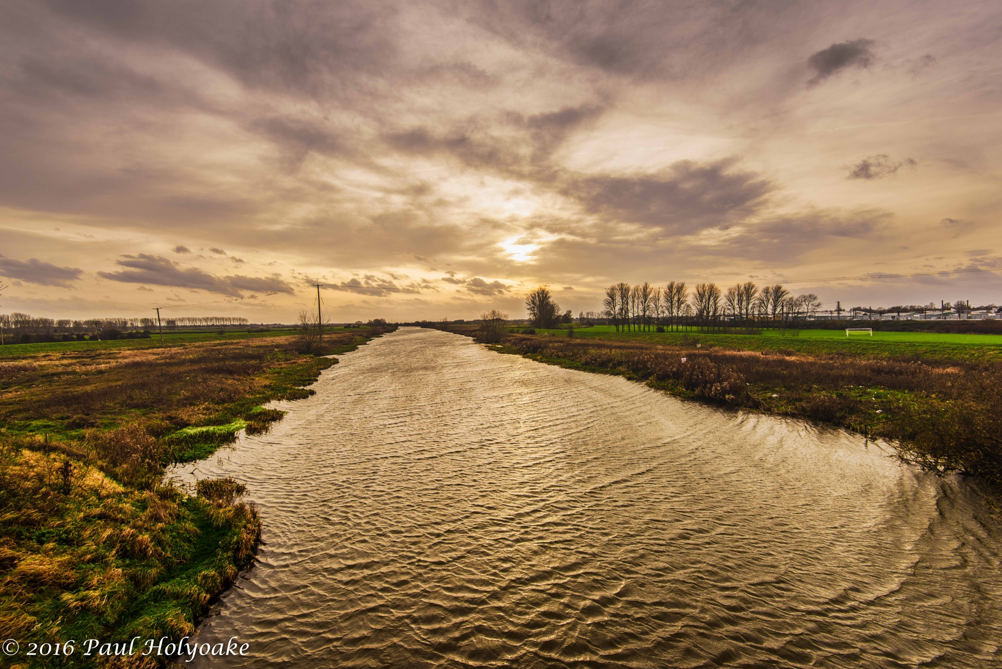 River Sunset by Photon