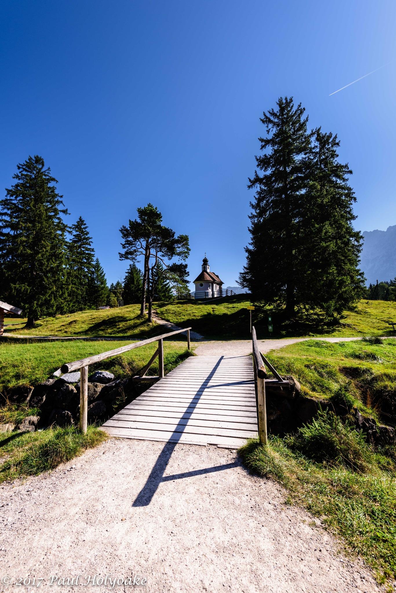 Alpine Chapel by Photon