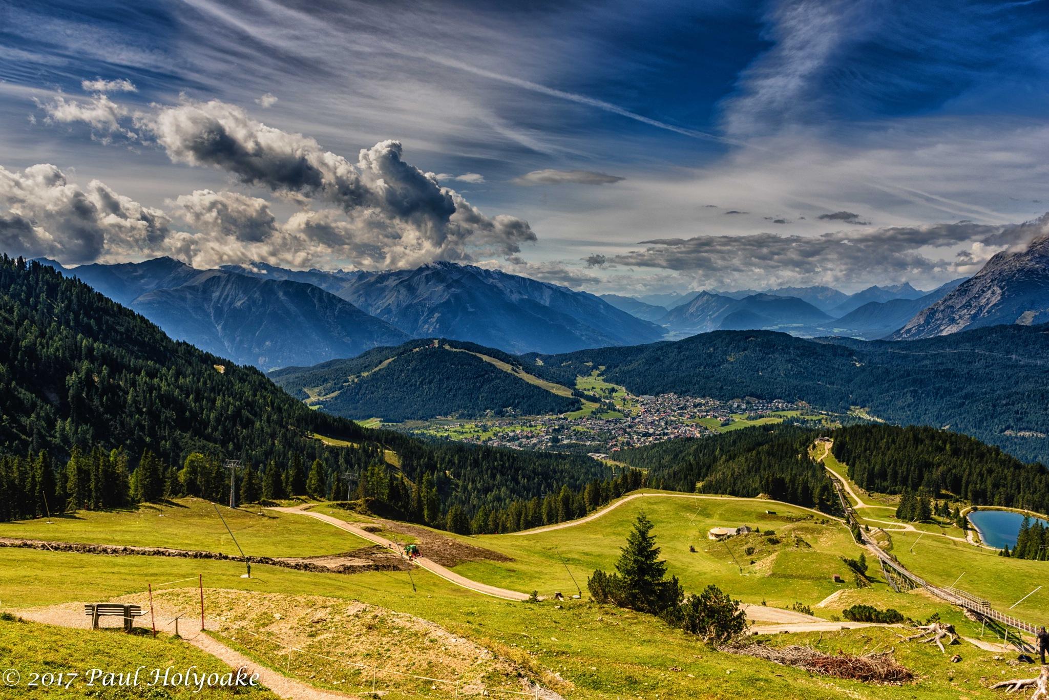Hazy Alps by Photon