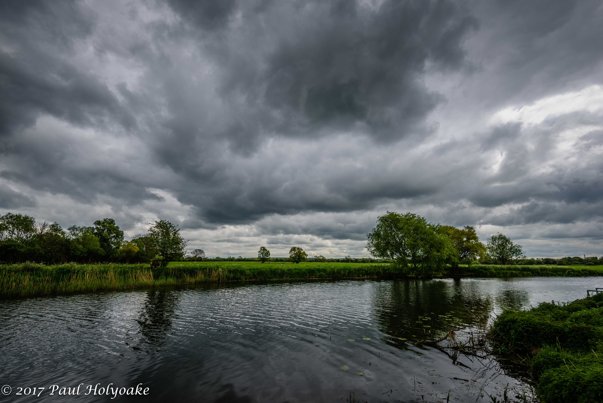 Clouds Over the Gt Ouse by Photon